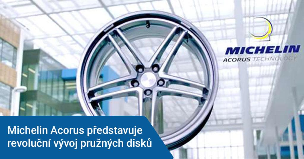 Michelin vyvíjí revoluční pružné disky
