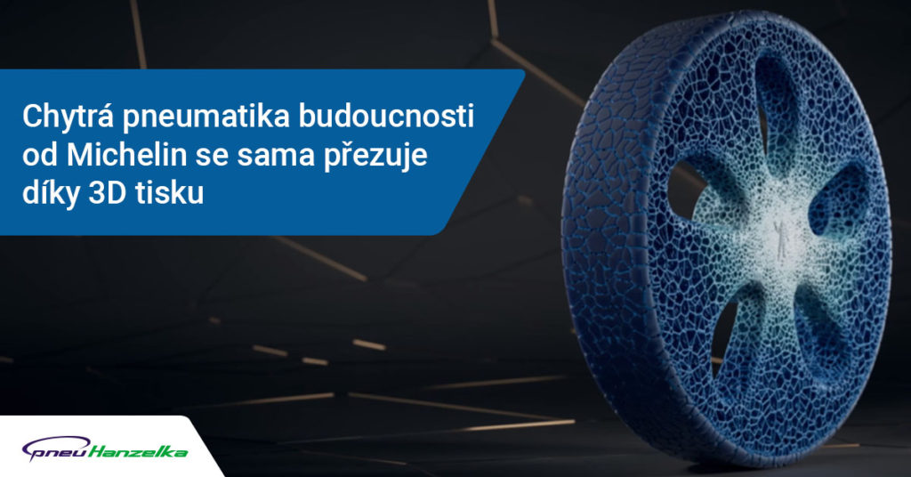 chytrá pneumatika přezuje díky 3D tisku
