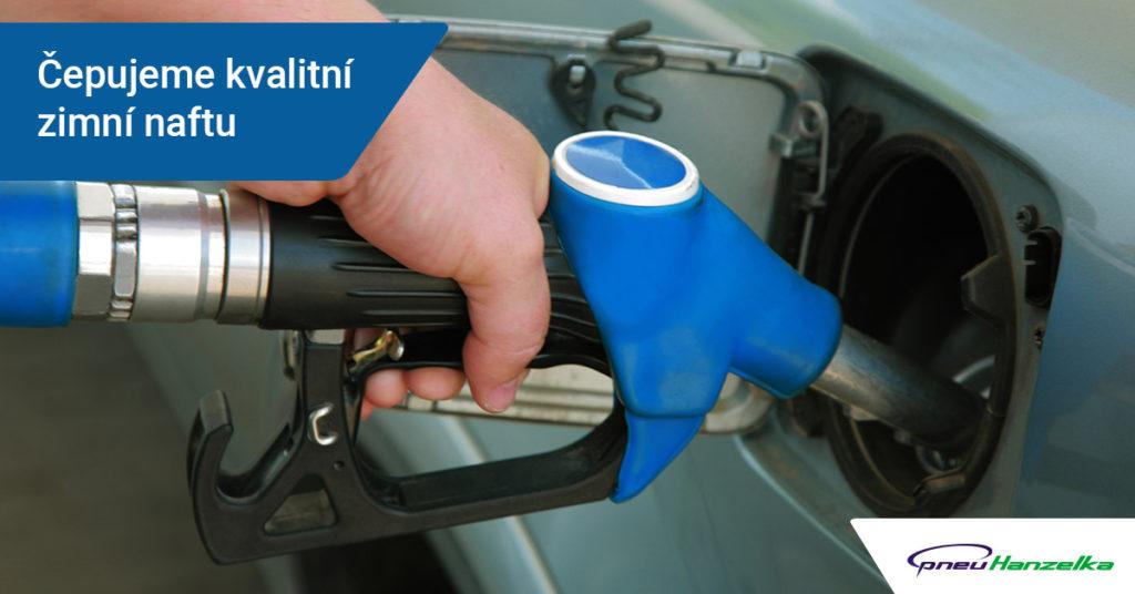 kvalitní nafta Tankujauto Nový Jičín
